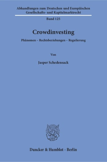 Cover: Crowdinvesting
