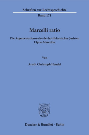 Cover: Marcelli ratio