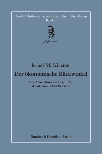 Cover: Der ökonomische Blickwinkel