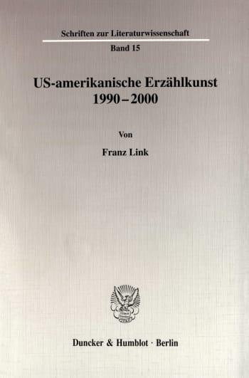 Cover: US-amerikanische Erzählkunst 1990-2000
