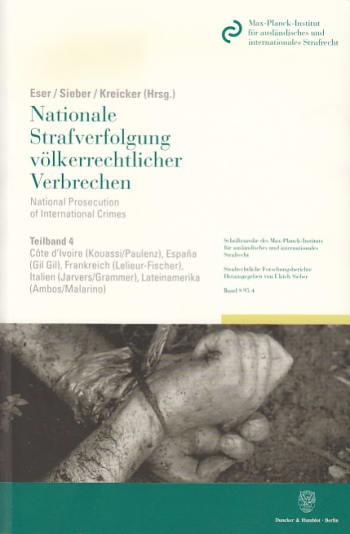 Cover: Nationale Strafverfolgung völkerrechtlicher Verbrechen / National Prosecution of International Crimes