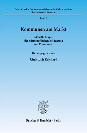 Cover: Kommunen am Markt