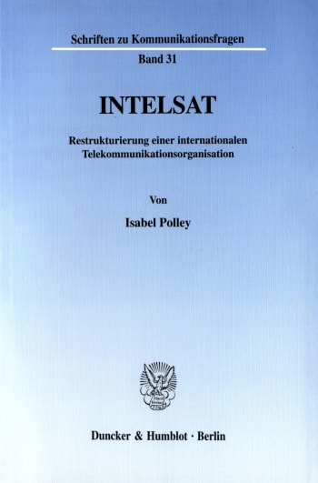Cover: INTELSAT