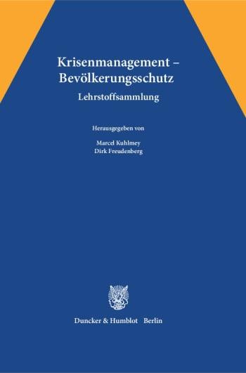 Cover: Krisenmanagement – Bevölkerungsschutz