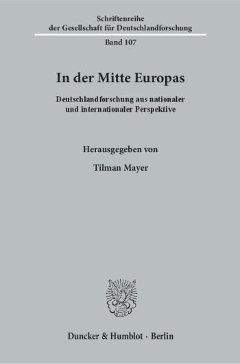 Cover: In der Mitte Europas