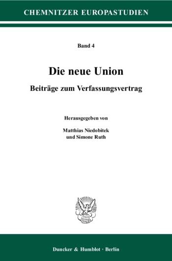 Cover: Die neue Union