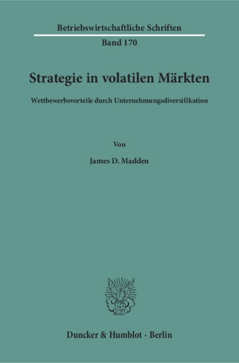 Cover: Strategie in volatilen Märkten