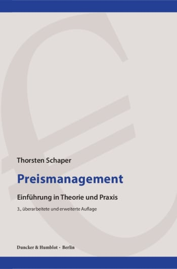 Cover: Preismanagement