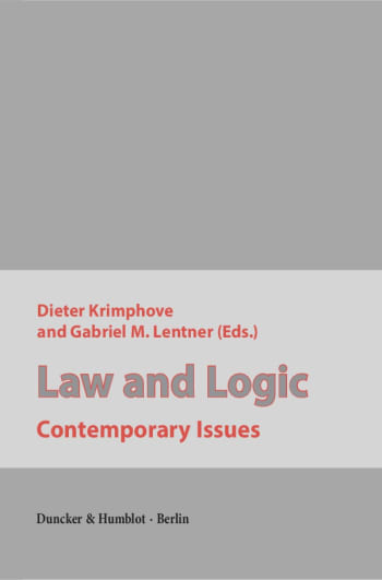 Cover: Law and Logic