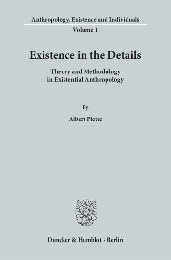 Cover: Existence in the Details