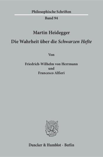 Cover: Martin Heidegger