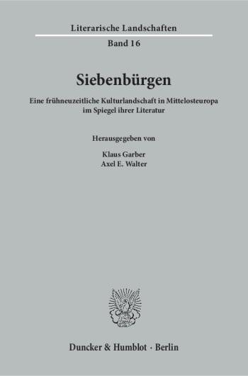 Cover: Siebenbürgen