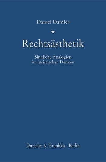 Cover: Rechtsästhetik