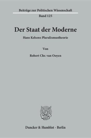 Cover: Der Staat der Moderne