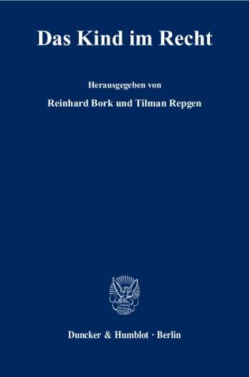 Cover: Das Kind im Recht