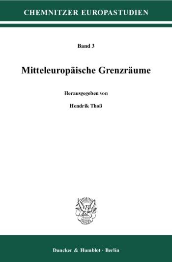 Cover: Mitteleuropäische Grenzräume