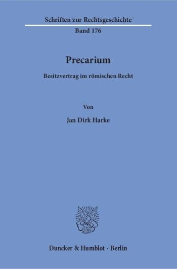 Cover: Precarium
