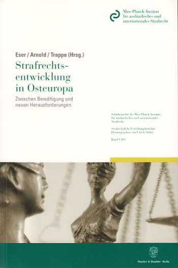 Cover: Strafrechtsentwicklung in Osteuropa