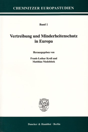 Cover: Vertreibung und Minderheitenschutz in Europa