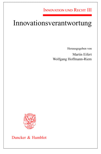 Cover: Innovationsverantwortung