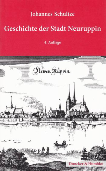 Cover: Geschichte der Stadt Neuruppin