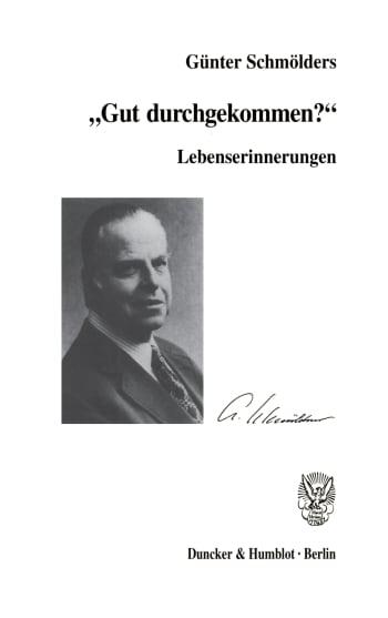 Cover: Lebenserinnerungen