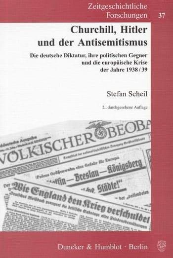 Cover: Churchill, Hitler und der Antisemitismus