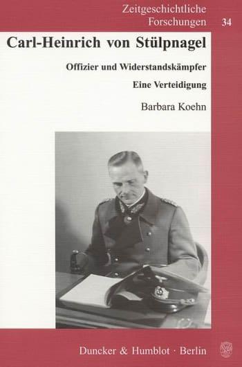 Cover: Carl-Heinrich von Stülpnagel