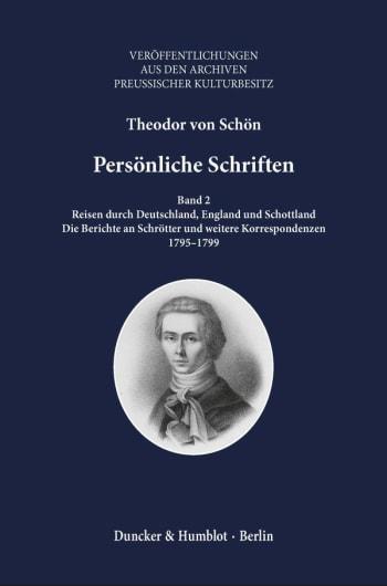 Cover: Persönliche Schriften