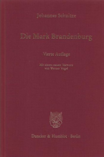 Cover: Die Mark Brandenburg