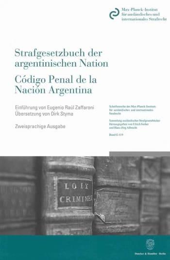 Cover: Das Strafgesetzbuch der argentinischen Nation / Código Penal de la Nación Argentina