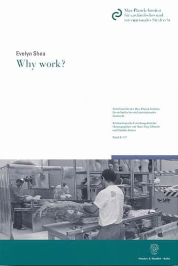 Cover: Why work?