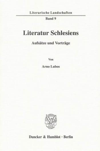 Cover: Literatur Schlesiens