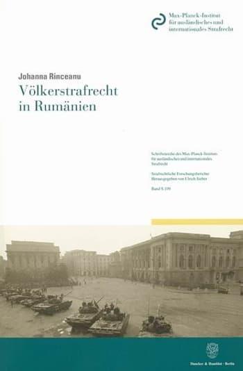 Cover: Völkerstrafrecht in Rumänien