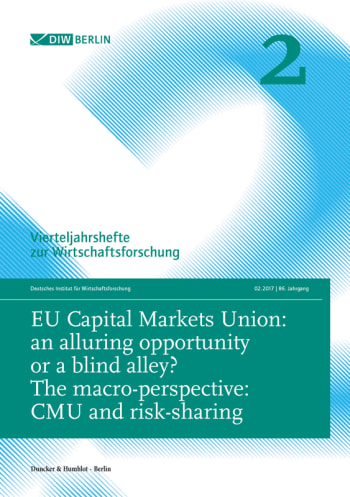 Cover: EU Capital Markets Union: an alluring opportunity or a blind alley?