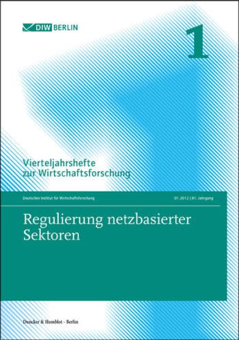 Cover: Regulierung netzbasierter Sektoren