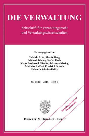 Cover: Verwaltungsrecht und Finanzmärkte