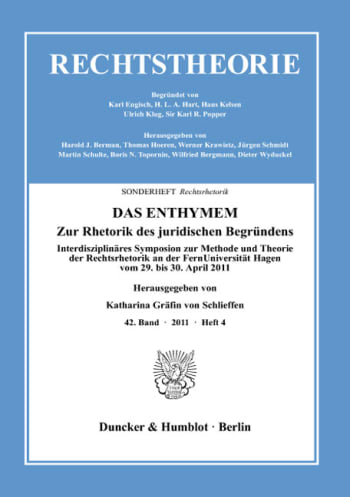 Cover: DAS ENTHYMEM