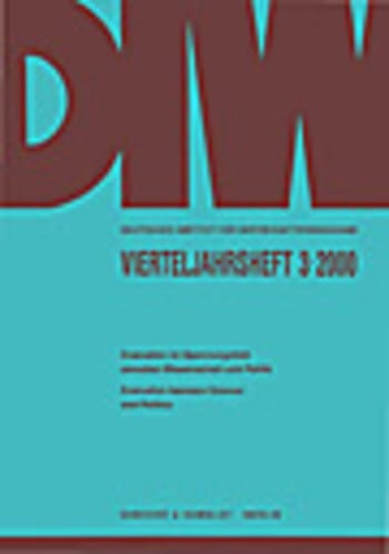 Cover: Evaluation im Spannungsfeld zwischen Wissenschaft und Politik / Evaluation between Science and Politics