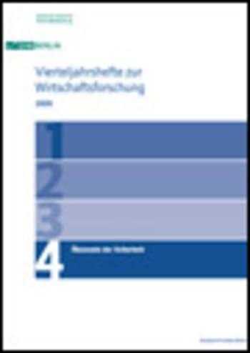 Cover: Ökonomie der Sicherheit