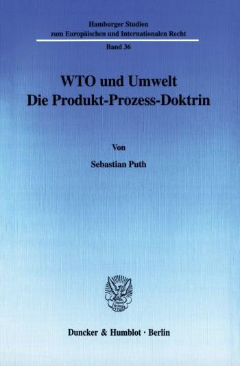 Cover: WTO und Umwelt