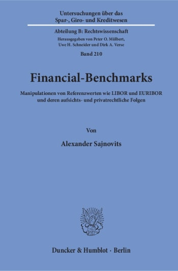 Cover: Financial-Benchmarks