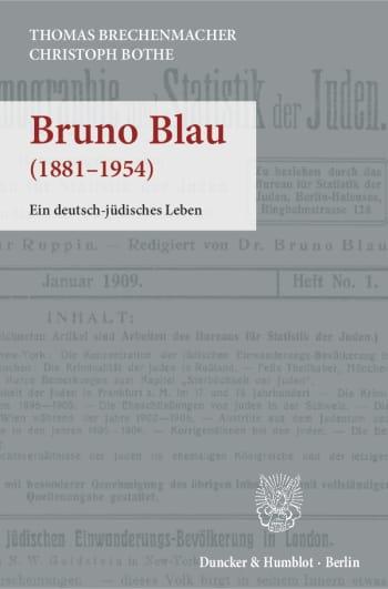 Cover: Bruno Blau