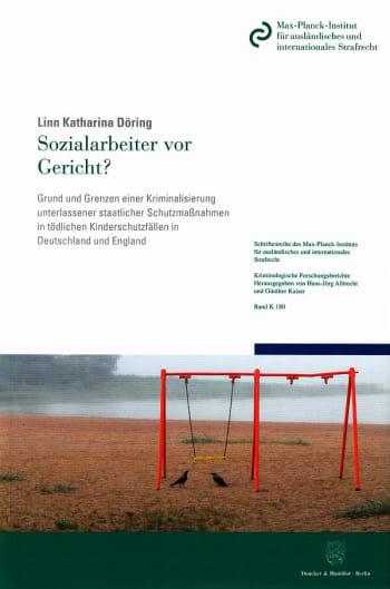 Cover: Sozialarbeiter vor Gericht?