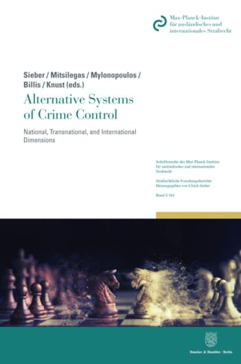 Cover: Alternative Systems of Crime Control