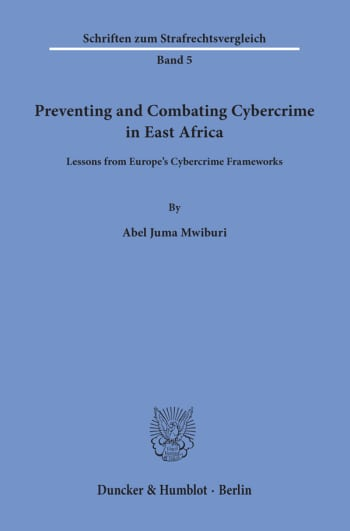 Cover: Preventing and Combating Cybercrime in East Africa