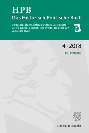 Cover: Das Historisch-Politische Buch (HPB)