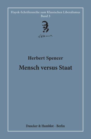 Cover: Mensch versus Staat
