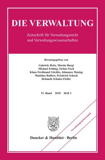 Cover: Verwaltungssachverstand