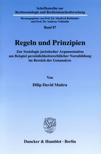 Cover: Regeln und Prinzipien